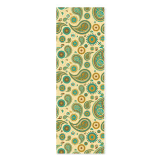 paisley pack of skinny business cards