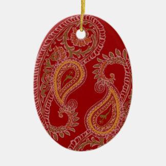 Paisley Pair Ornament