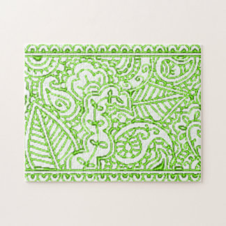 Paisley Passion - Green (Henna) Puzzles