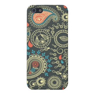 Paisley Pattern 3 Cover For iPhone 5/5S