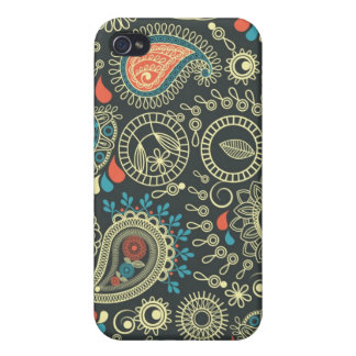 Paisley Pattern 3 iPhone 4/4S Cover