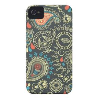 Paisley Pattern 3 iPhone 4 Cases