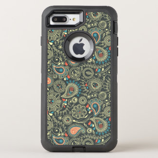Paisley Pattern 3 OtterBox Defender iPhone 8 Plus/7 Plus Case