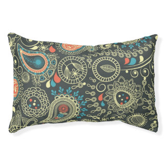 Paisley Pattern 3 Pet Bed
