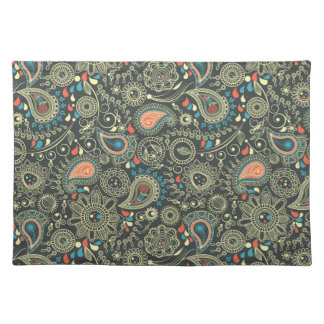 Paisley Pattern 3 Placemat
