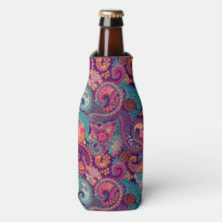 Paisley Pattern Bottle Coozy