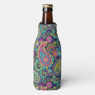 Paisley Pattern Bottle Coozy Bottle Cooler
