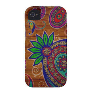 Paisley Pattern iPhone 4/4S Covers