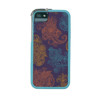 Paisley pattern iPhone 5 5s case Fall colors iPhone 5 Cases