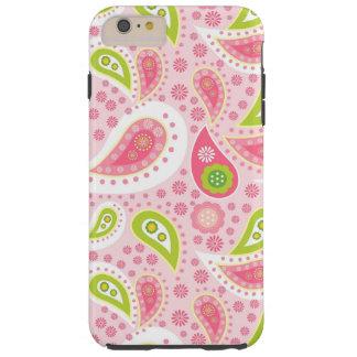 Paisley pattern iPhone 6 plus tough case