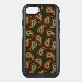 Paisley Pattern OtterBox Commuter iPhone 8/7 Case