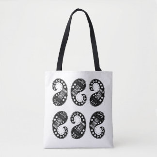 Paisley Pattern Tote Bag