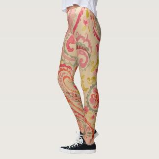 Paisley Pinks Leggings
