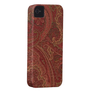 Paisley Plum Olive Blackberry Bold 9700/9780 iPhone 4 Case-Mate Case