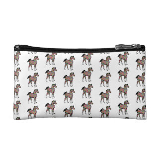 Paisley Pony Cosmetic Bag