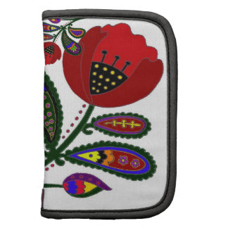 Paisley Poppy Ukrainian Folk Art Organizer