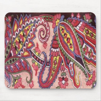 Paisley Power Mouse Pad