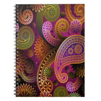Paisley Purple Notebook