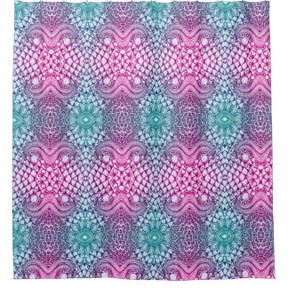 Paisley Purple Shower Curtain
