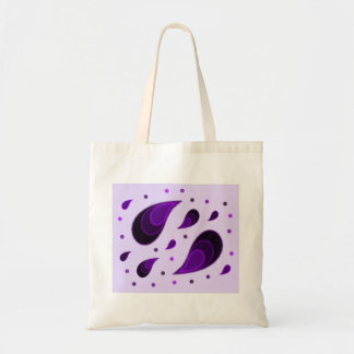 Paisley Purple Tote Bag