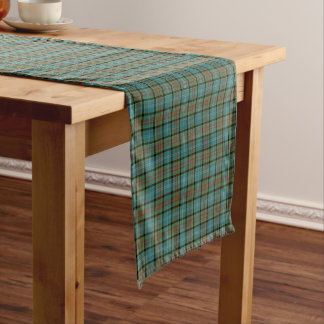 Paisley Scotland District Tartan Short Table Runner