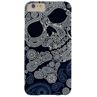 Paisley Skull Graphic Print Barely There iPhone 6 Plus Case