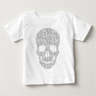 Paisley Skull Tee Shirt