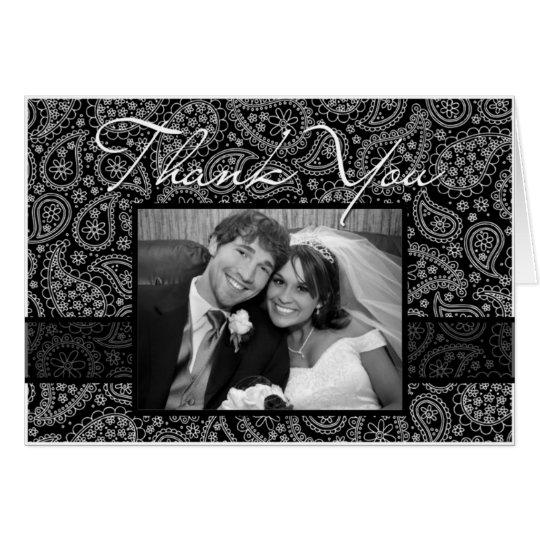 "Paisley ""Thank You"" Photocard Card"