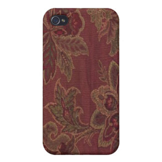 Paisley Wine Gold Sage Speck Case iPhone 4 iPhone 4/4S Cover