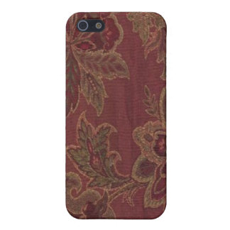 Paisley Wine Gold Sage Speck Case iPhone 4 iPhone 5/5S Case