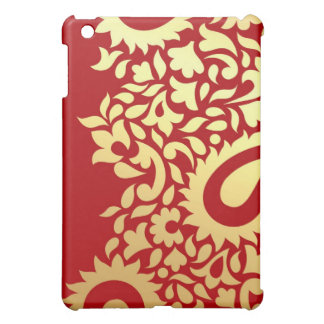 Paisleys Indian Red iPad Mini Case