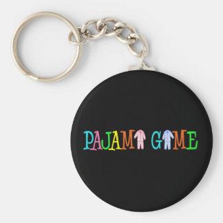 Pajama Game Keychains