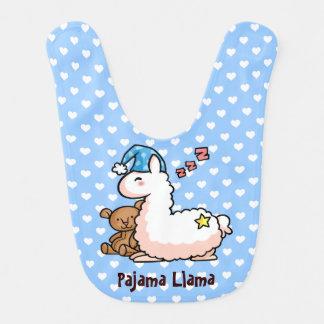 Pajama Llama Bib