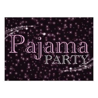 pajama party invitations starshine