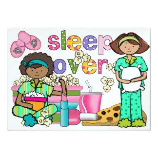Pajama Party / Sleep Over - SRF 13 Cm X 18 Cm Invitation Card
