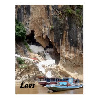 pak ou laos postcard