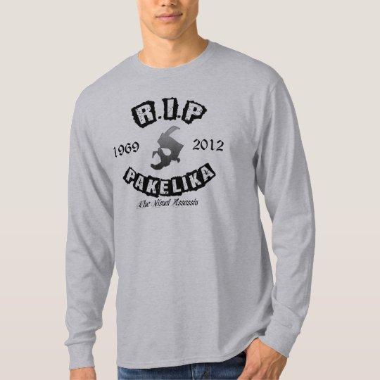 Pakelika Grey Gradient Basic Long Sleeve T-Shirt