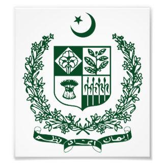 Pakistan Coat Of Arms Photo Print