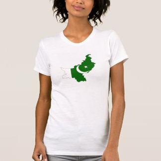 pakistan country flag map shape symbol T-Shirt