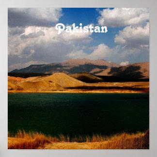 Pakistan Countryside Poster