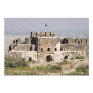 Pakistan, Dina. Talaqi Gate as seen from the Art Photo
