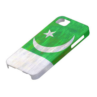 Pakistan distressed Pakistani flag Barely There iPhone 5 Case