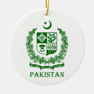 PAKISTAN - emblem/coat of arms/flag/symbol Christmas Ornament