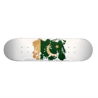Pakistan Flag 20.6 Cm Skateboard Deck