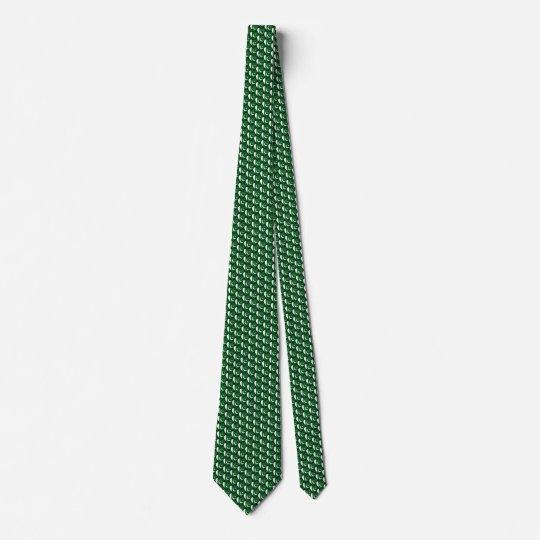 Pakistan Flag Hearts Tie