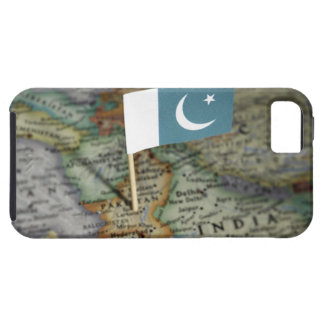 Pakistan flag in map iPhone 5 cover