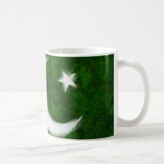Pakistan Flag White 11 oz Classic Mug