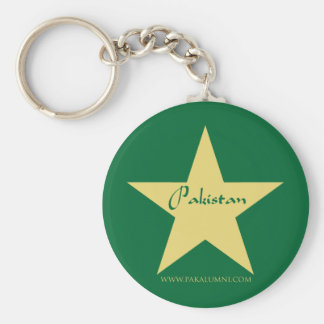 Pakistan Gold Star Products Keychains