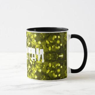 Pakistan green souvenir mug