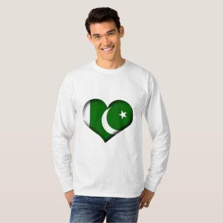 Pakistan Heart Flag T-Shirt